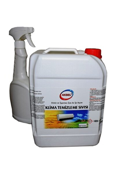 akbel Klima Temizleme Sıvısı 5 Kg+uygulama Spreyi
