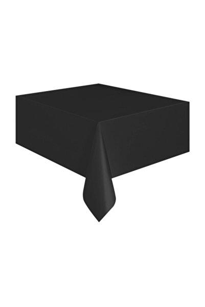 Kullan At Market Plastik Siyah Masa Örtüsü 120*180 cm