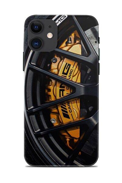 Renkli Garaj Iphone 11 Amg Wheel Telefon Kaplaması