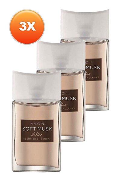 AVON Soft Musk Delice Kadın Parfüm Edt 50 ml 3'lü Set 5050000103824