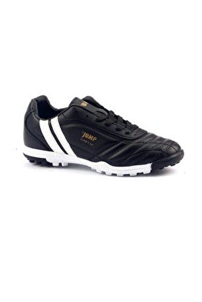 Siyah Halısaha Krampon Erkek Çocuk Futbol Ayakkabı
