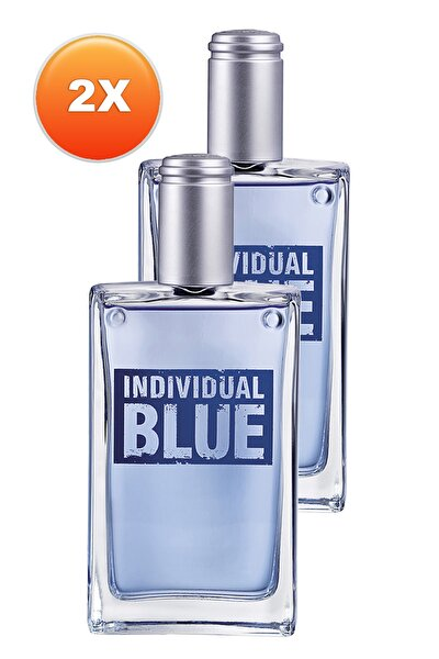 AVON Individual Blue Erkek Parfüm Edt 100 ml 2'li Set 5050000104012