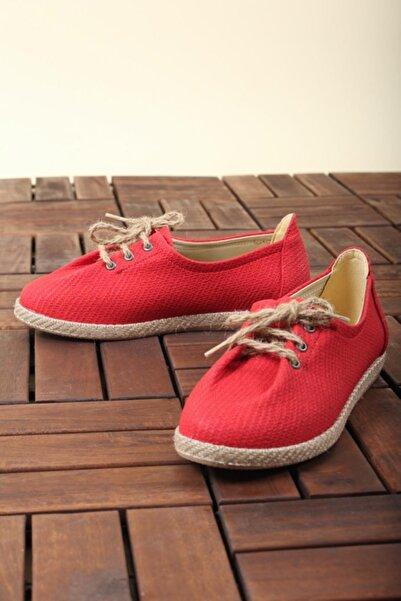 Oksit Florin 411 Hasır Düz Casual Kadın Ayakkabı