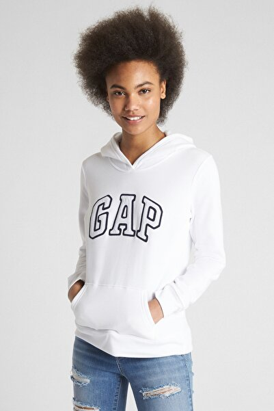 GAP Kadın Logo Kapüşonlu Sweatshirt 527507
