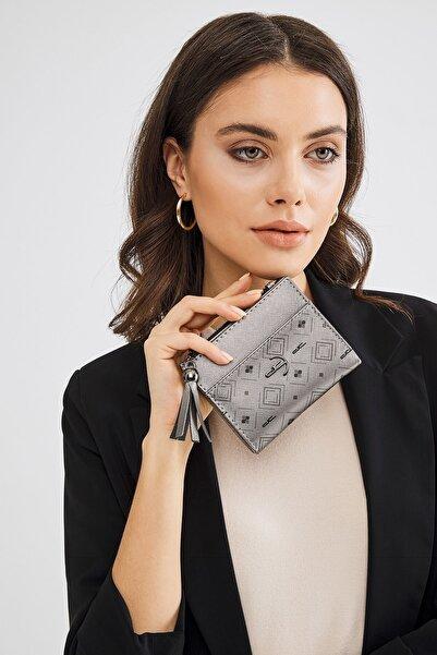 Deri Company Gümüş Kadın Cüzdan (8023dc-g)