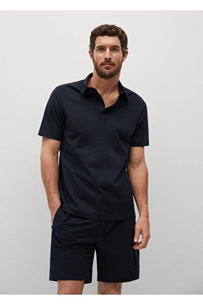 MANGO Man Erkek Teknik Pamuk Kumaşlı Polo Gömlek