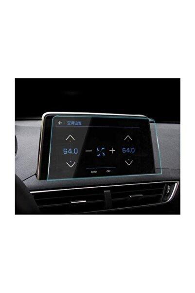 ael-tech Peugeot 3008 Navigasyon Dokunmatik Ekran Koruyucu Cam