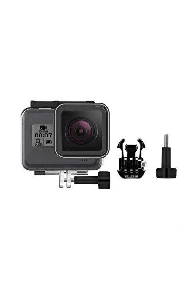 TELESIN Gopro Hero 8 Black Kamera Için 45 Metre Su Geçirmez Kap Housing