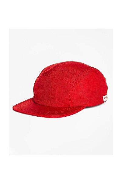 BROOKS BROTHERS Erkek Bordo Red Fleece Beyzbol Şapkası