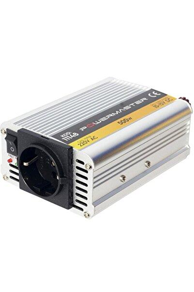 OEM Powermaster Pm-11148 12 Volt 500 Watt Modıfıed Sınus Inverter 10-15v Arası-220v Ac