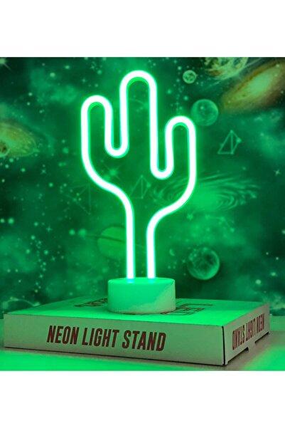 Bam Yeşil Kaktüs Tasarımlı Neon Lamba