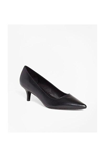 BROOKS BROTHERS Kadın Siyah Topuklu Ayakkabi 1-00091398