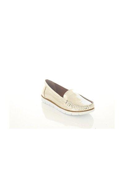 Polaris Kadın Altın Rengi Ayakkabı
