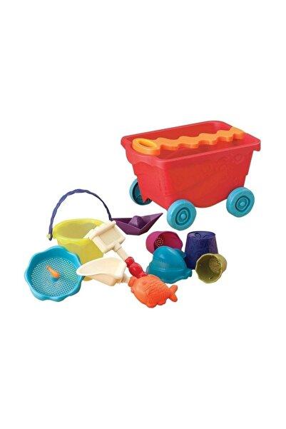 B.Toys Kırmızı Plaj Vagonu /