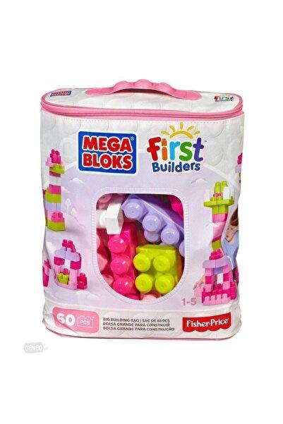Mega Bloks First Builders 60 Lı Blok Torbaları Pembe Cyp67-dch54