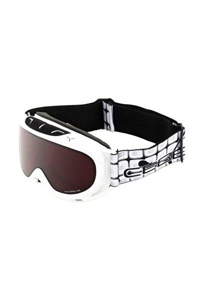 Cebe Verdict Kayak Snowboard Gözlük M Beyaz Koyu Kırmızı Cb1565D016M