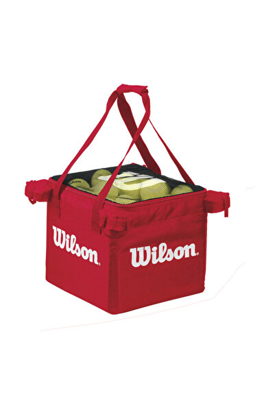 Wilson Tenis Top Çantası Teaching Cart  Red  (WRZ541300)