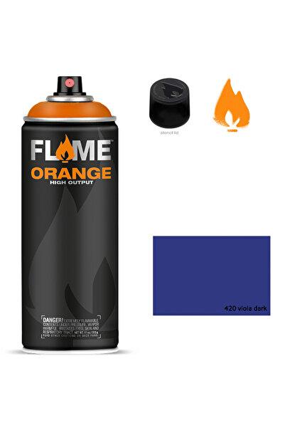 Flame Orange 400ml Sprey Boya N:420 Viola Dark 5699983