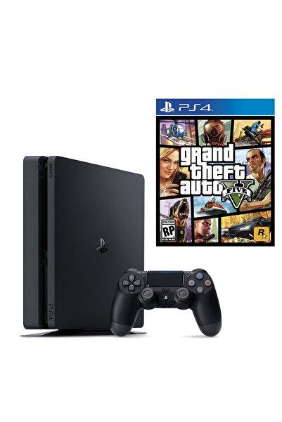 Sony Playstation 4 Slim 500 GB + PS4 GTA 5