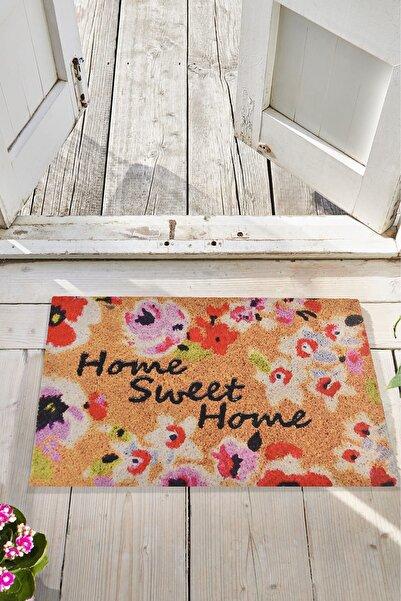 Chilai Home SWEET HOME 45x70 cm İç ve Dış Kapı Önü Paspasları