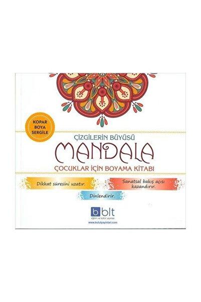 Bulut Yayınları Çizgilerin Büyüsü Mandala Çocuklar Için Boyama Kitabı