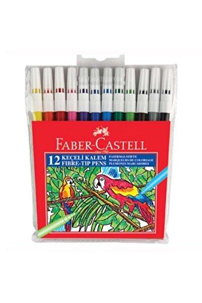 Faber Castell 12 Renk Keçeli Kalem
