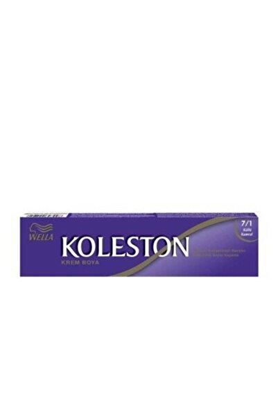 Koleston Küllü Kumral Krem Tüp Saç Boyası 7.1