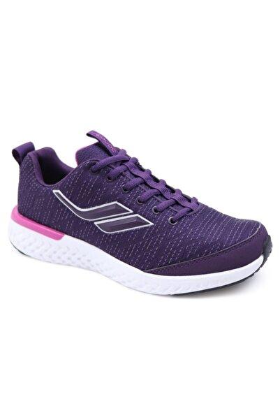 Lescon Kadın Mürdüm Spor Ayakkabı