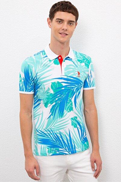 U.S. Polo Assn. Yesıl Erkek T-Shirt