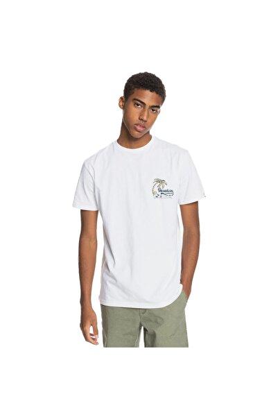 Quiksilver Erkek Beyaz Another Escape Ss T-Shirt