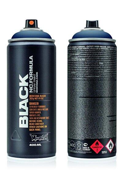 MONTANA Black Dark Indigo Sprey Boya 400 ml  Blk5092