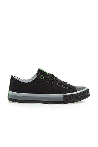 Benetton Kadın Siyah Spor Ayakkabı