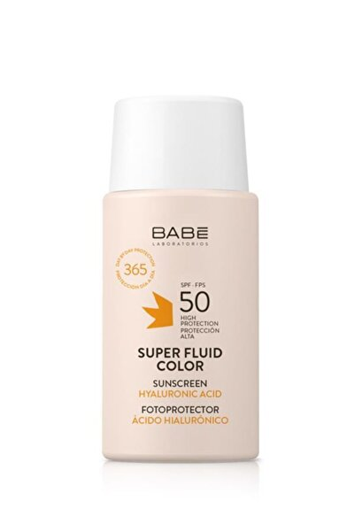 Babe Süper Etkili Spf50 Renkli Güneş Koruyucu 50 ml