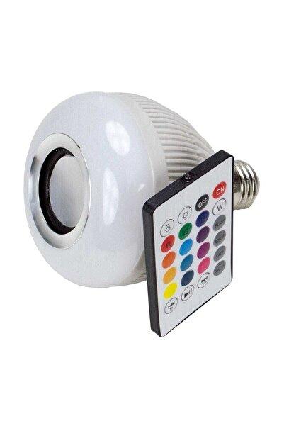 DEXTEL Wj-l2 Bluetooth Hoparlör Led E27 Ampül Beyaz Lamba