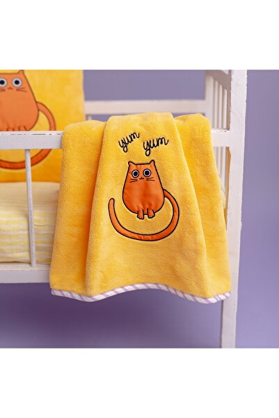 Milk & Moo Bebek Battaniyesi Tombiş Kedi