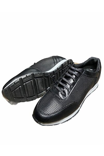 Uptown Erkek Siyah Hakiki Deri Ayakkabı