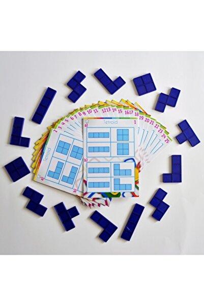 AtölyeAdana Tetroid Oyunu - Matematik Akıl Zeka Mantık Strateji Beceri Eğitici Eğlenceli Oyun