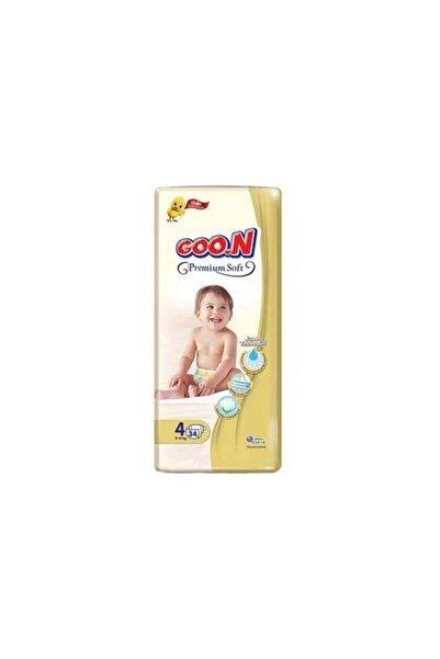 Goo.n Goon Bebek Bezi Premium Jumbo 4 Beden 34 Adet 9 14 kg