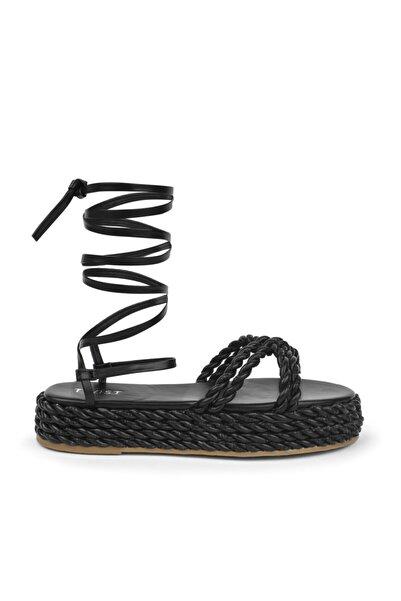 Twist Bağcıklı Sandalet