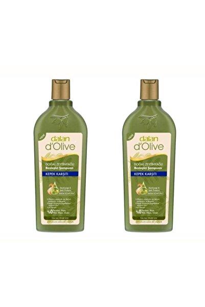 Dalan 2 Adet D'olive Zeytinyağlı Kepek Karşıtı Şampuan 400 ml