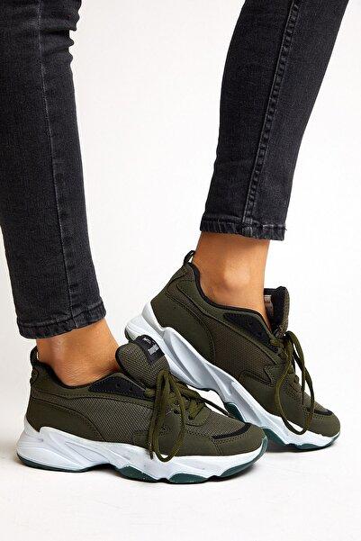 Tonny Black Haki Unisex Sneaker ZYP-0
