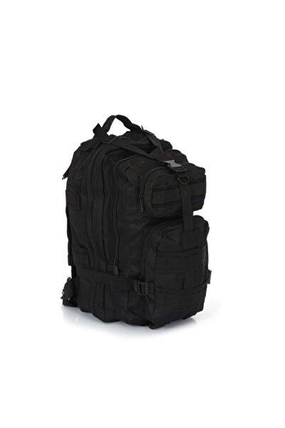 SİNGLE SWORD Tactical Outdoor 36 Litre Seyahat-dağcı Çantası Siyah Askeri Çanta