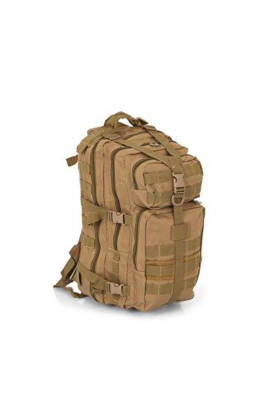 SİNGLE SWORD Tactical Outdoor 36 Litre Seyahat-dağcı Çantası Bej Askeri Çanta
