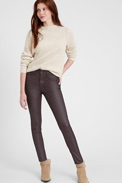 Banana Republic Kadın Brown/black High-rise Skinny Jean Pantolon