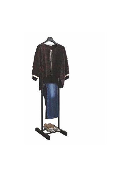 Lerato Elbise Askısı Tek Tepeli Siyah