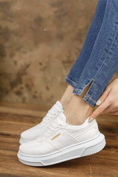 Chekich Ch075 Kadın Ayakkabı Beyaz
