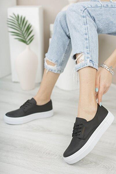 Chekich Ch005 Kadın Ayakkabı Siyah Beyaz