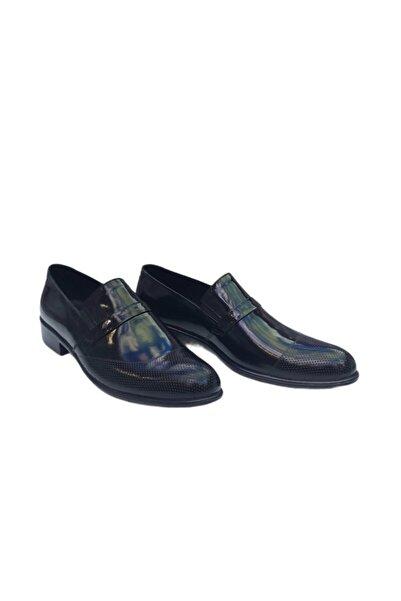 Venuma Erkek Siyah Kundura Klasik Ayakkabı