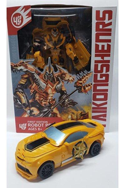 Shilan Company Transformers Bumblebee Arabaya Dönüşen Büyük Robot
