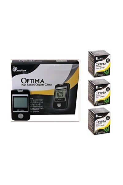 4moms Optima Kan Sekeri Ölçüm Cihazı + 3 Kutu Strip (150 Adet)